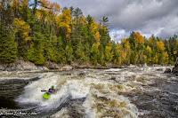 Canada big wave trees changing color river, beautiful WhereIsBaer.com Chris Baer