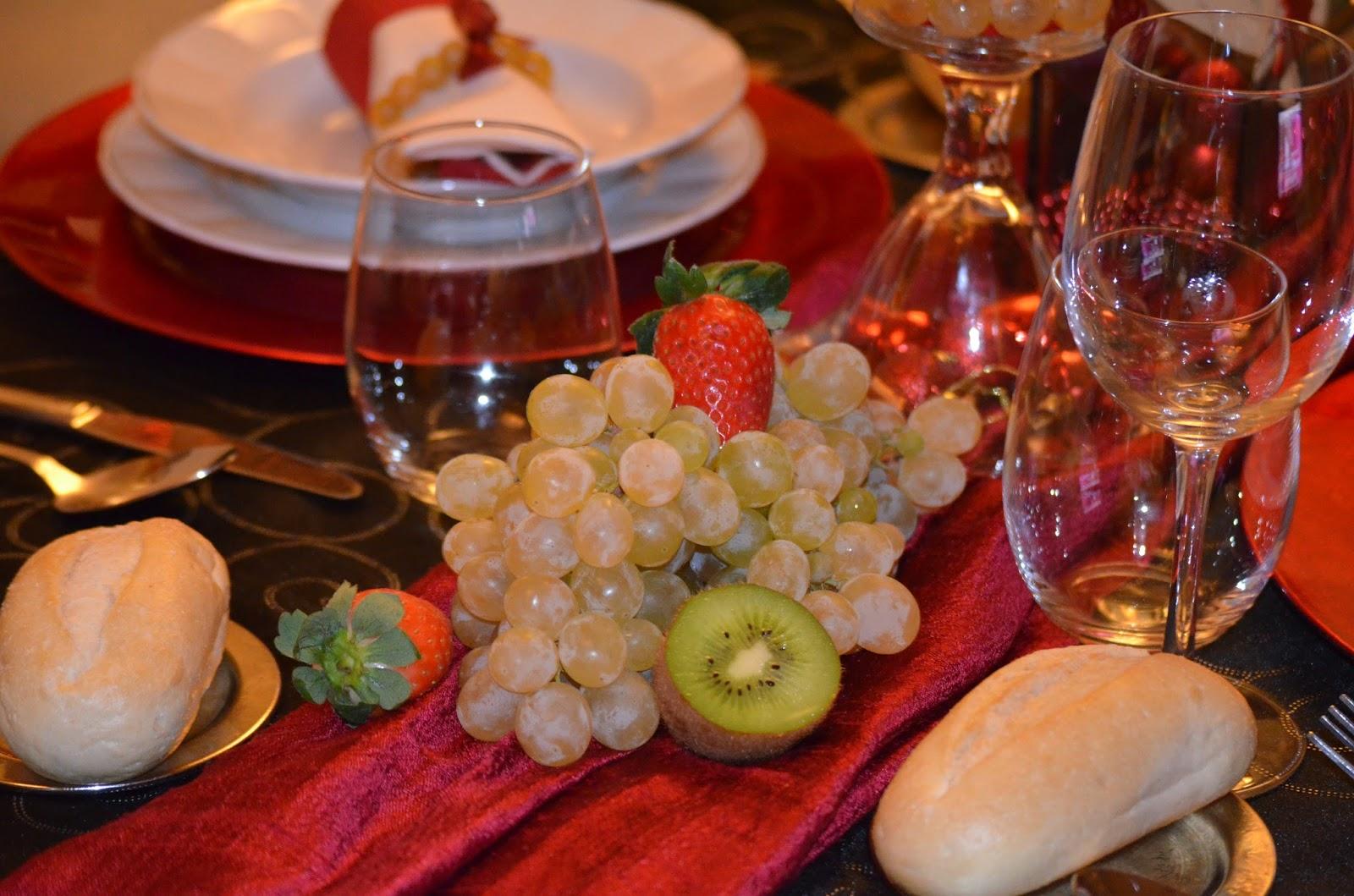 Cocina con esther mesa para nochevieja for Comidas para nochevieja