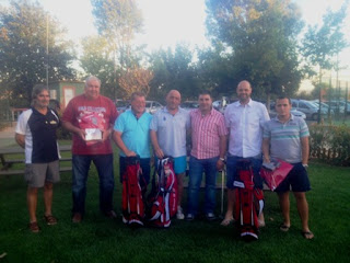 Ganadores Torneo Neumaticos Novoa en Golf Rio Cabe