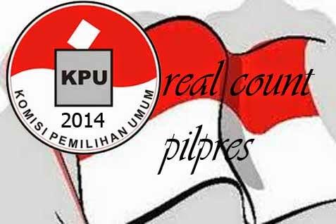 Hasil Pilpres 2014 KPU Real Count Rekapitulasi 22 Juli 2014