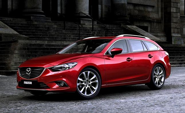 Mazda 6 Wagon for Canada and the USA