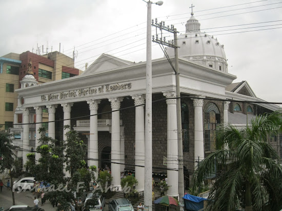 St. Peter's Parish Church along Commonwealth, Quezon City