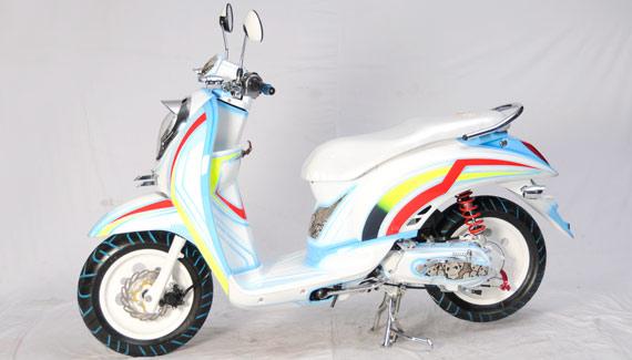 Honda Scoopy 2011 (JAKARTA) title=