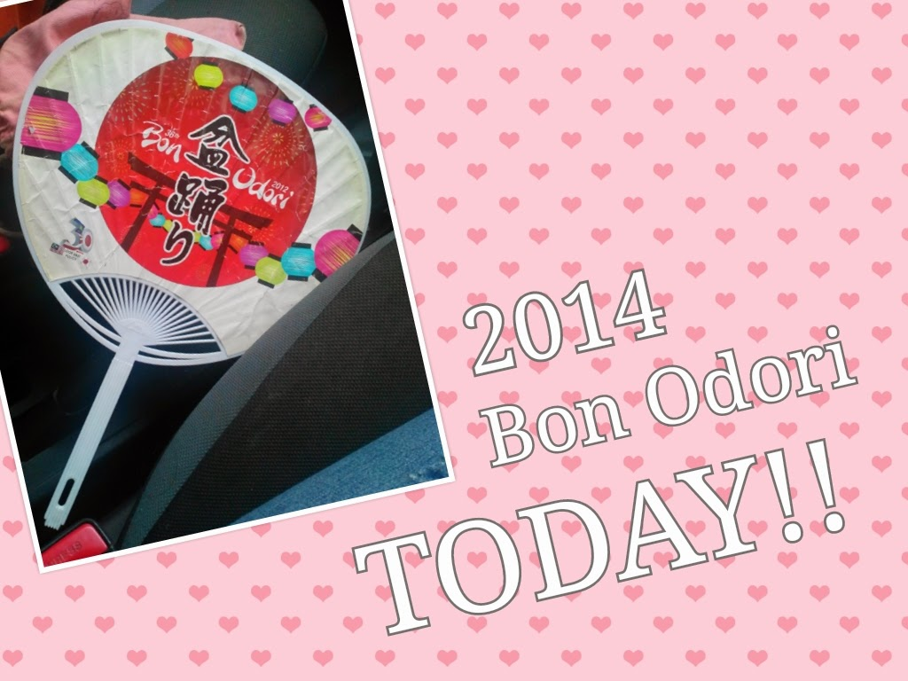 Bon Odori Reminder for today :D