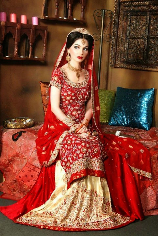 Свадебное платье в индии