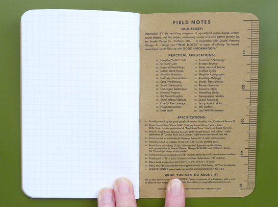 A Penchant For Paper Field Notes Memo Books