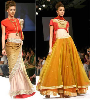 Raat Ki Rani' at the Wills Lifestyle India Fashion Week (WIFW) here