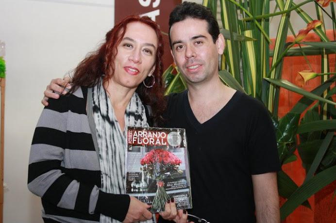 Apoio Revista Arranjo Floral Editora Casa Dois.