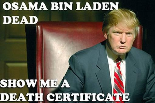 Dikabarkan Barack Obama tidak lahir di Amerika, Donald Trump ngotot ingin melihat akte kelahiran presiden AS itu