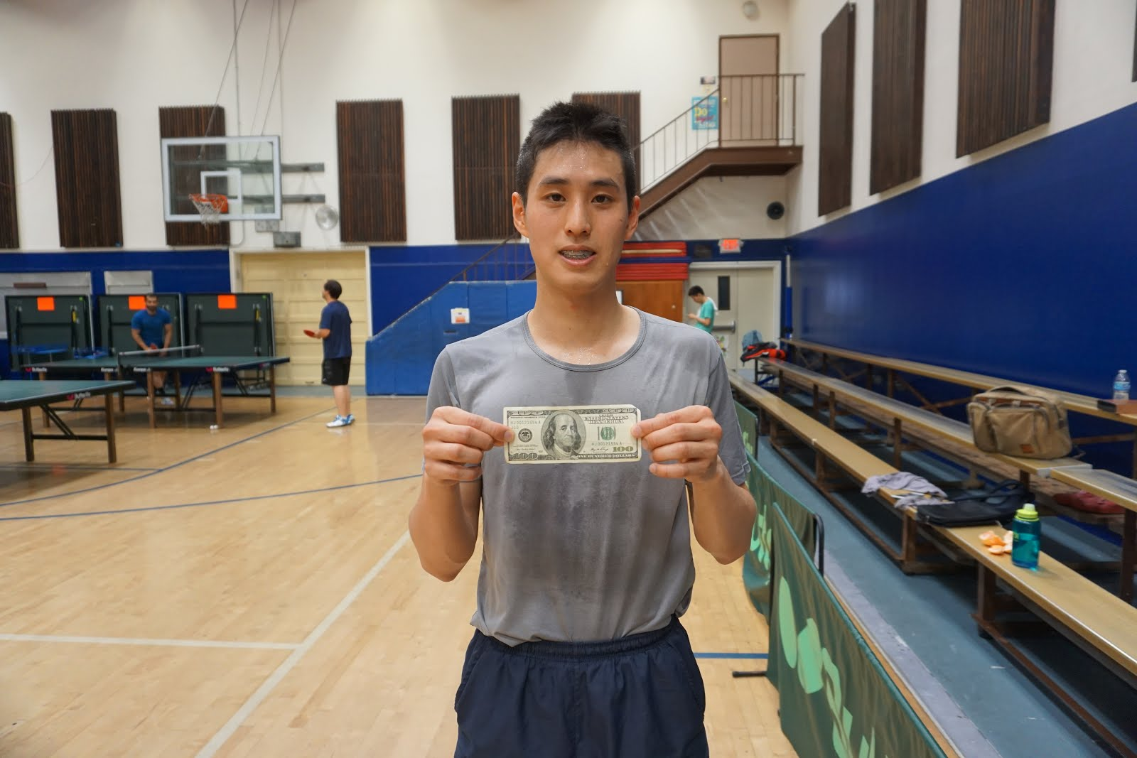 Keith Lin wins first inaugural $100 Sunday Club League top group