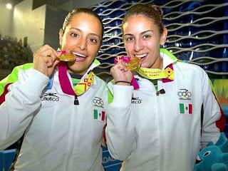 Paola Espinosa gana oro