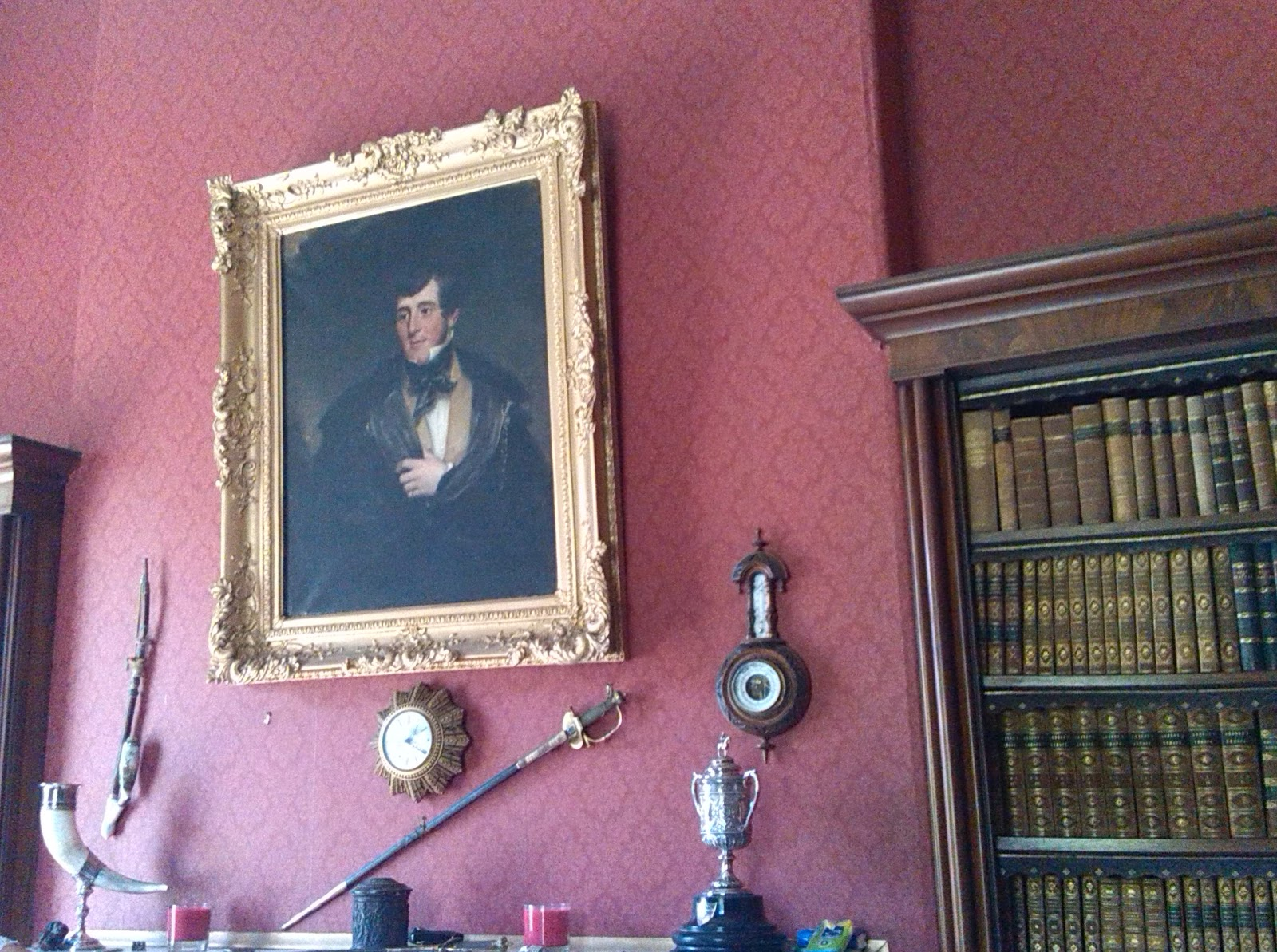 Interior of Ballinkeele House