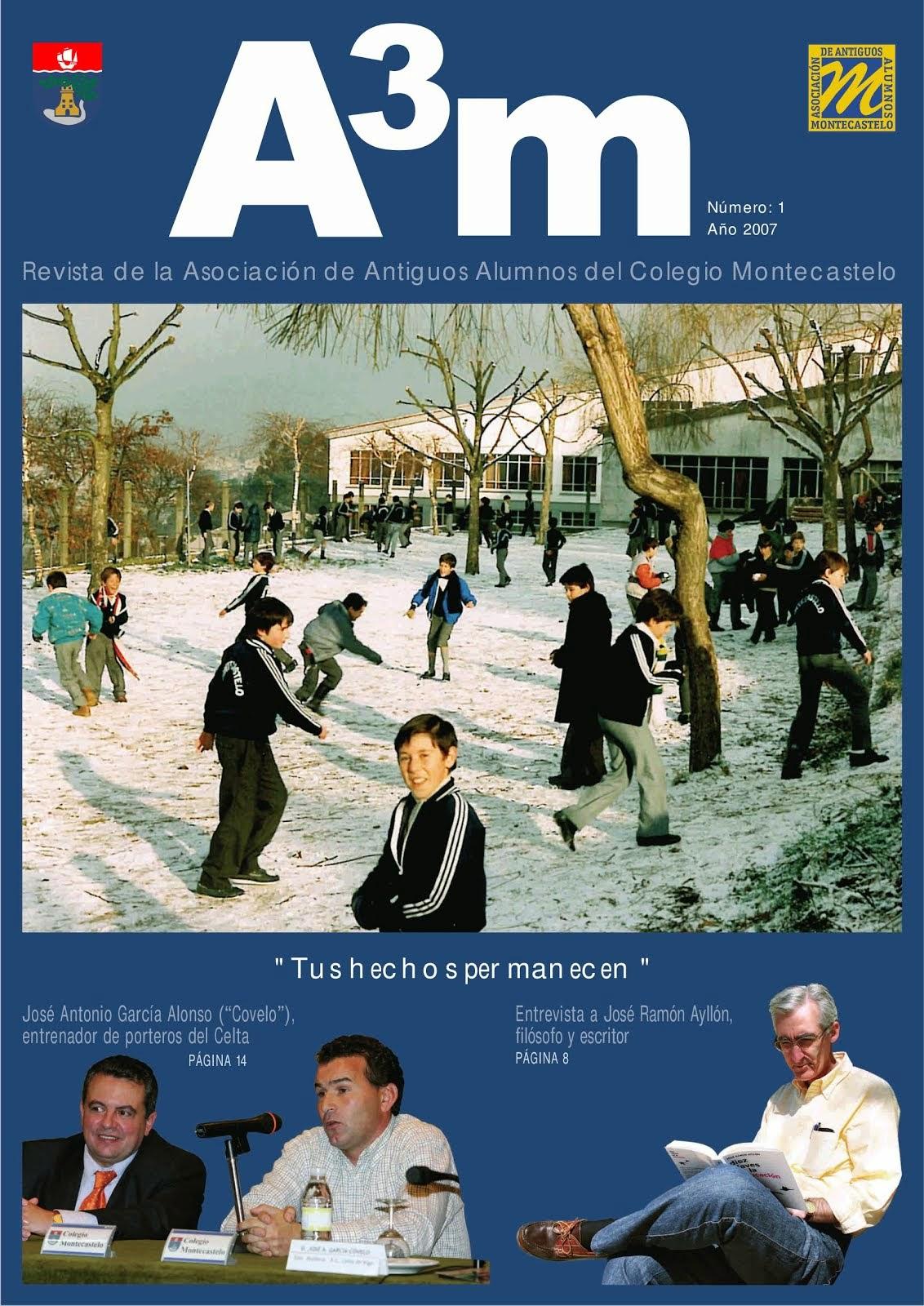 REVISTA A3M Nº1 2008