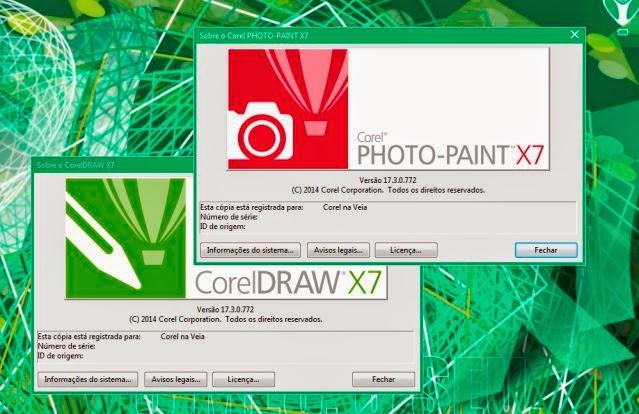 CorelDRAW Graphics Suite X7 - 17.3.0.772 Update 3 Disponível