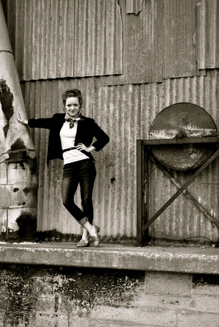 Flashback Summer:  Teddy Girl Outfit