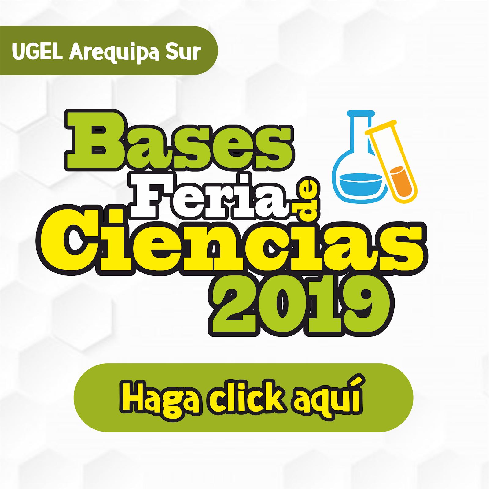 BASES FERIA DE CIENCIAS