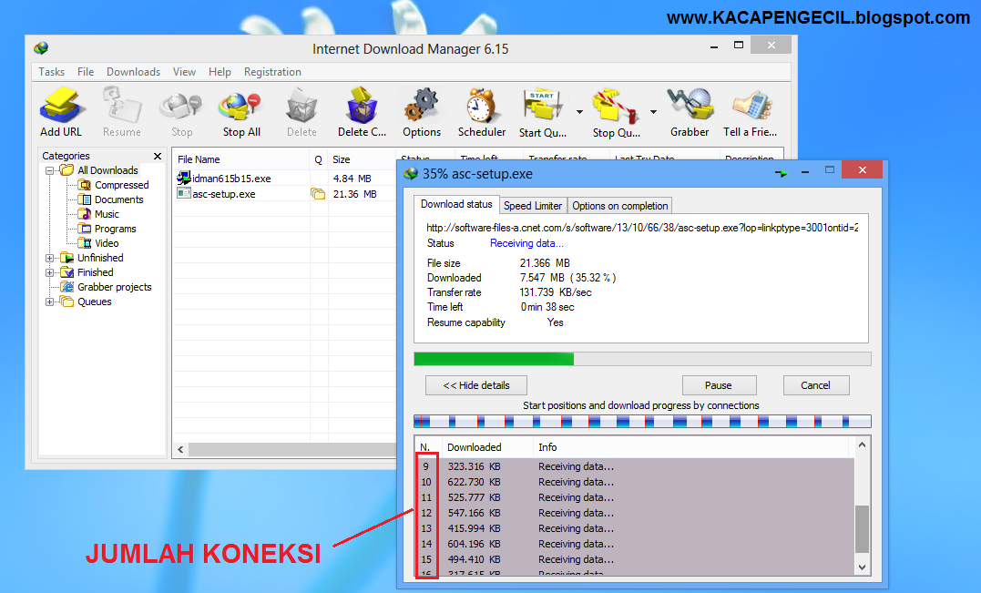 we transfer download manager