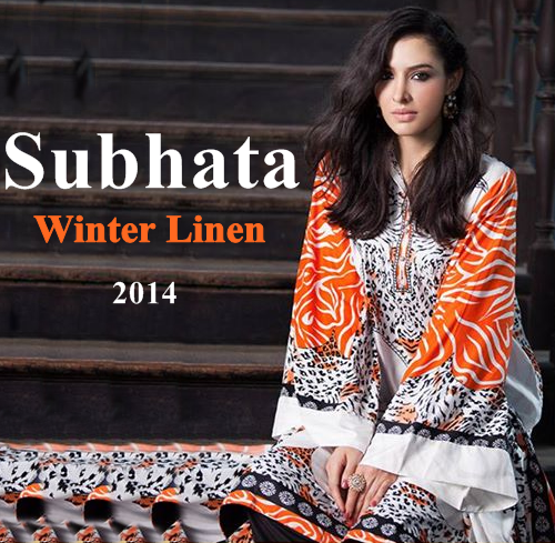 Subhata Winter Linen Collection 2014