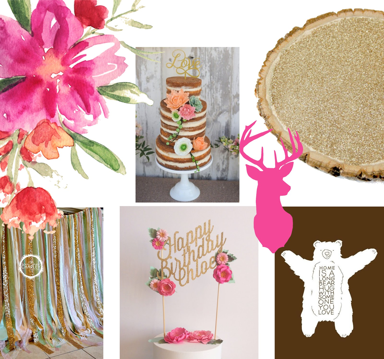 my misters me rustic glam baby shower inspiration