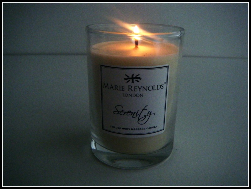 Mary Reynolds Candle