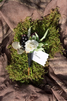 Boutonniere - Inn at Buttermilk Falls - Hudson Valley NY - Splendid Stems Floral Designs