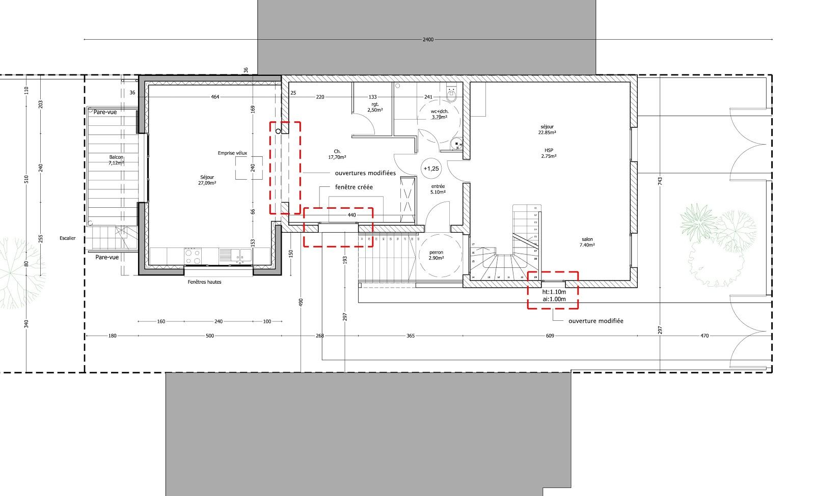 Richard tolouie architectes maison g extension gagny 93 for Extension maison 93
