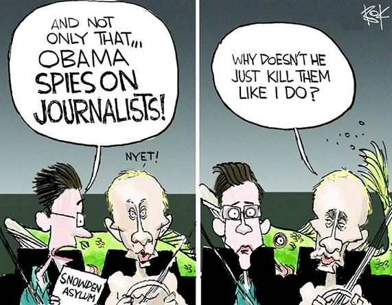 Bok: Snowden Putin.