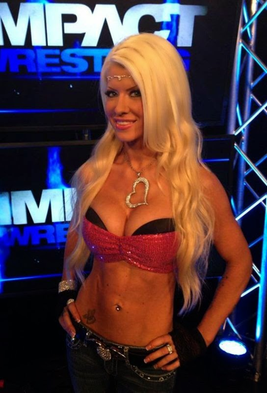 Angelina Love Returns to Impact Wrestling!