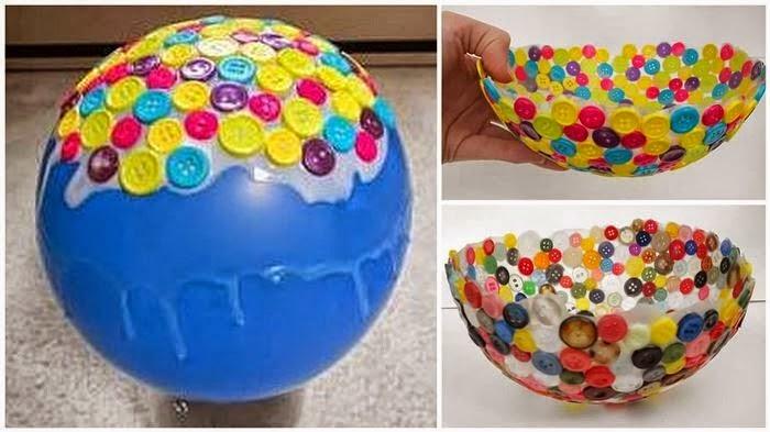 Manualidades y artesanias salticoz reciclado con botones - Manualidades para adultos paso a paso ...