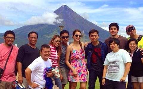 "Shooting of ""Seasons of Love presents BF for Hire, GF for Life"" in Albay"