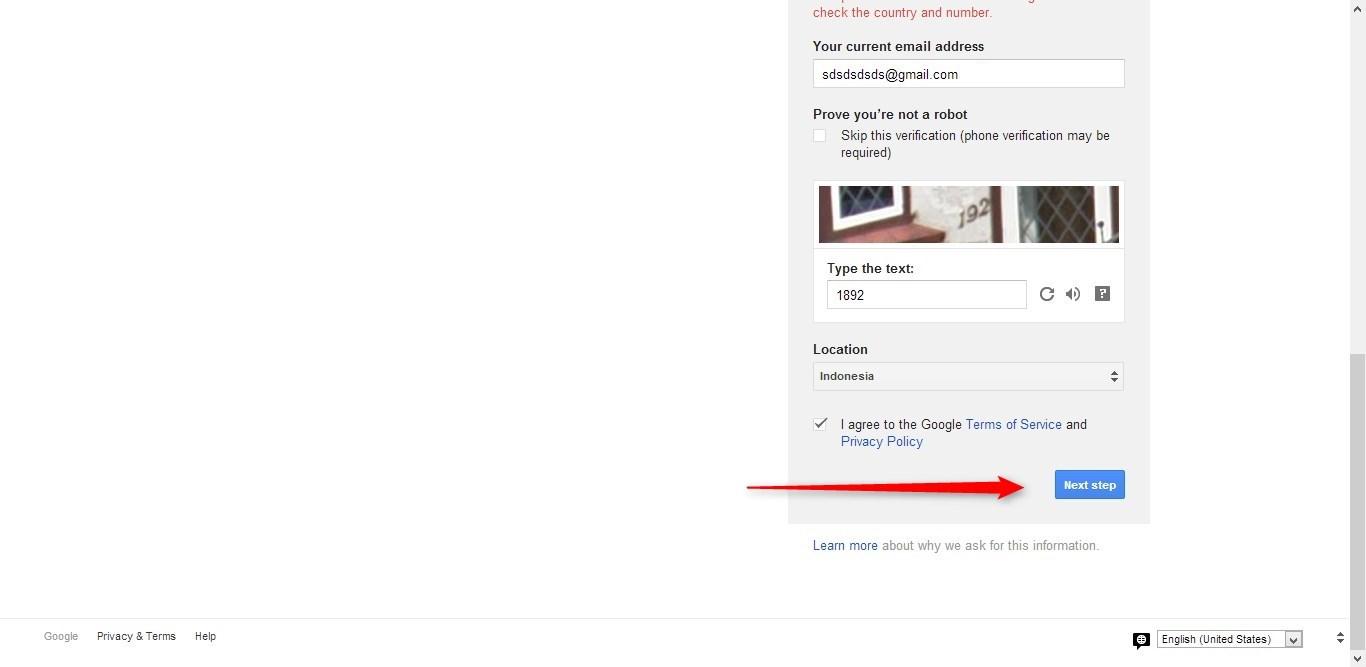 Cara Membuat Email Google (Gmail) gambar 4