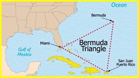 Misteri Segitiga Bermuda Misteri Segitiga Bermuda Ini Sebenarnya Telah