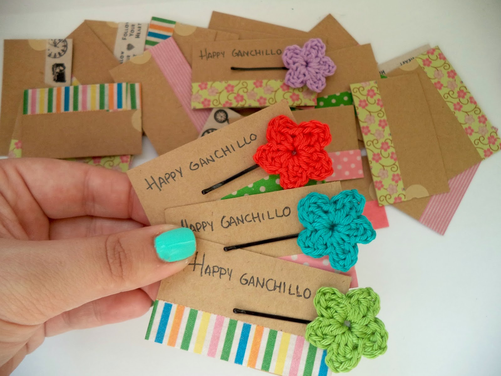 tarjetas de visita DIY