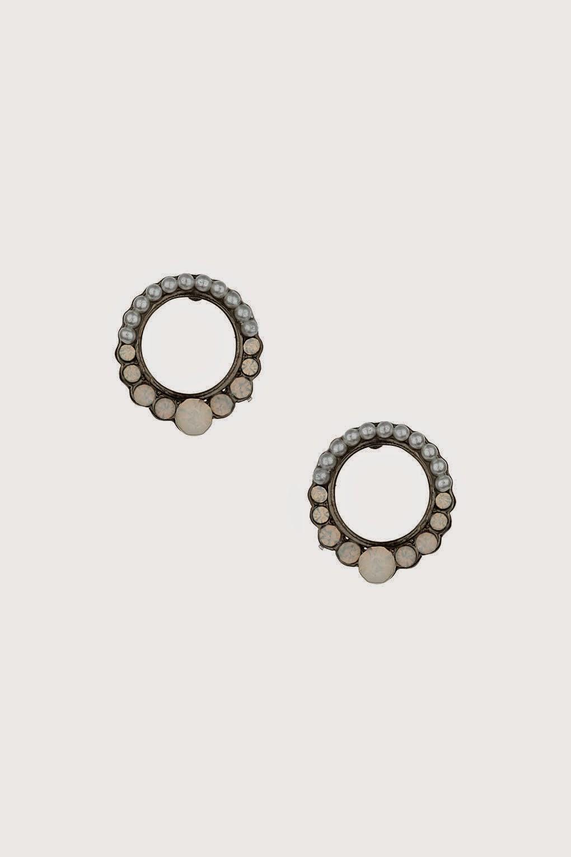 circular earrings