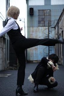 Durarara Izaya-Shizuo Cosplay by Hibiki-Saya