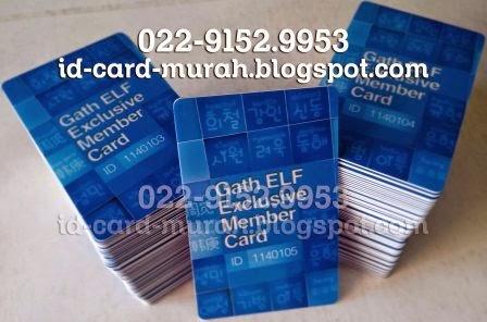 kartu Gath ELF Exclusive Member Card Super Junior Indonesia Jakarta id murah bandung