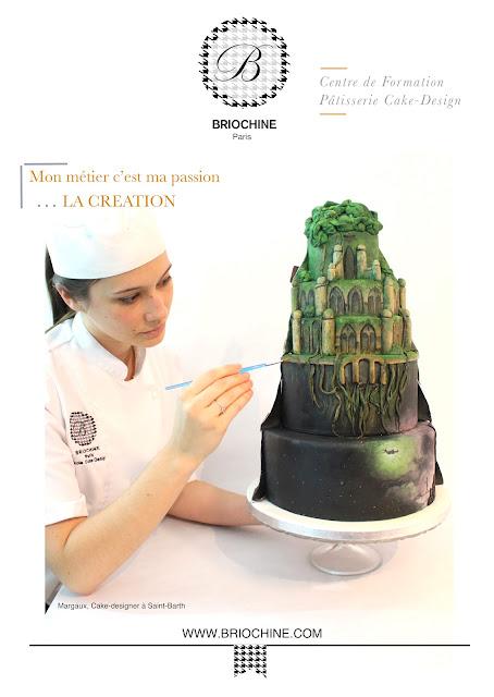 Formation Pâtisserie Cake Design school Paris europe