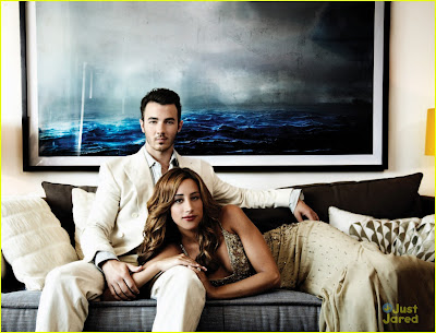 First Pictures Kevin and Danielle Jonas Socialite Life Magazine Shoot