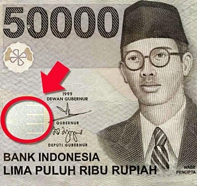 Fakta Mengenai Uang Kertas Rp 50.000 Wage Rudolf Soepratman