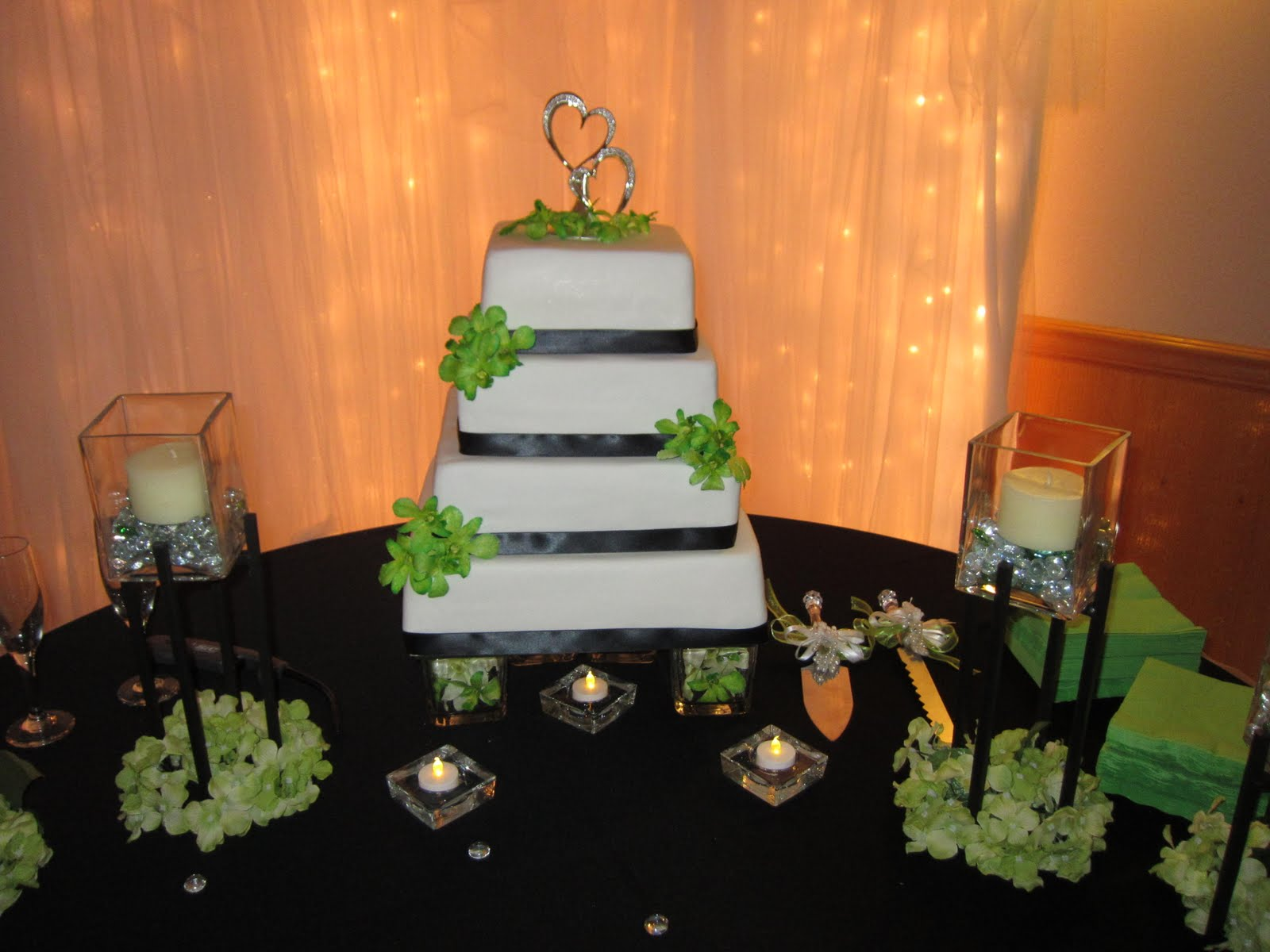Lime Green Wedding Cakes Viewing Gallery
