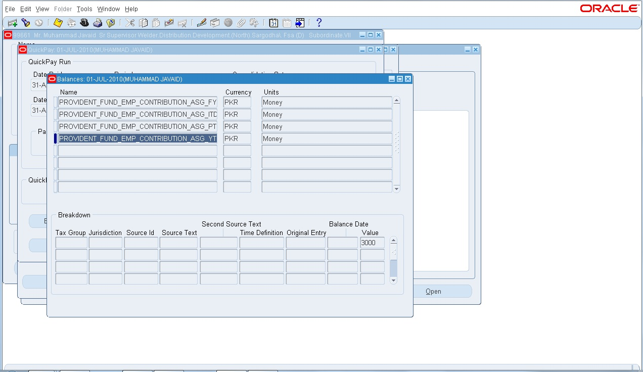 oracle concepts for you Balances in Oracle HRMS Payroll – Payroll Receipt