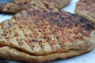 Backyard Brick Oven flatbreads