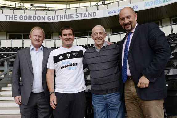 The Gordon Guthrie Stand will be officially opened at Saturday's game against Leicester