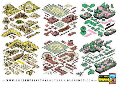 http://studioblinktwice.deviantart.com/art/Von-Doogan-Danger-Maze-Game-Assets-Tileset-part-1-561688718