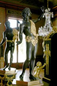 La Villa Masséna à Nice, le style Empire sur la côte d'Azur. Bronze2_medium