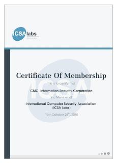 CMS Infosec | ICSA Labs