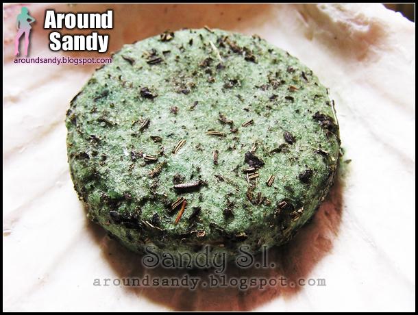 Lush Squeaky green champú sólido donde comprar review opinión