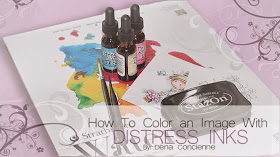 My Distress Inks Class!