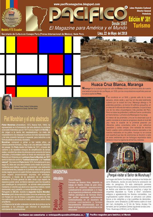 Revista Pacifico Nº 381 Turismo