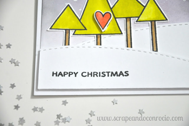 Tutorial Tarjeta Distress Sello Paper Smooches
